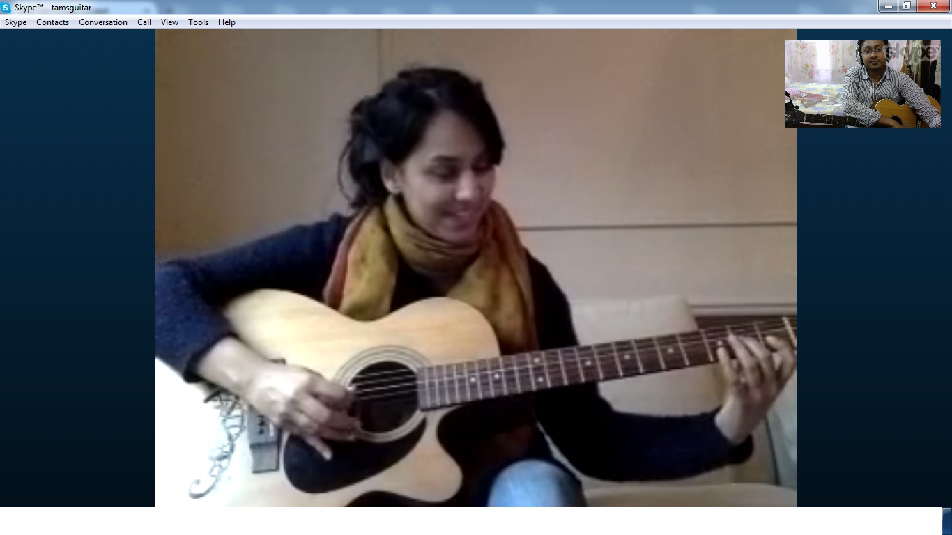online guitar classes india