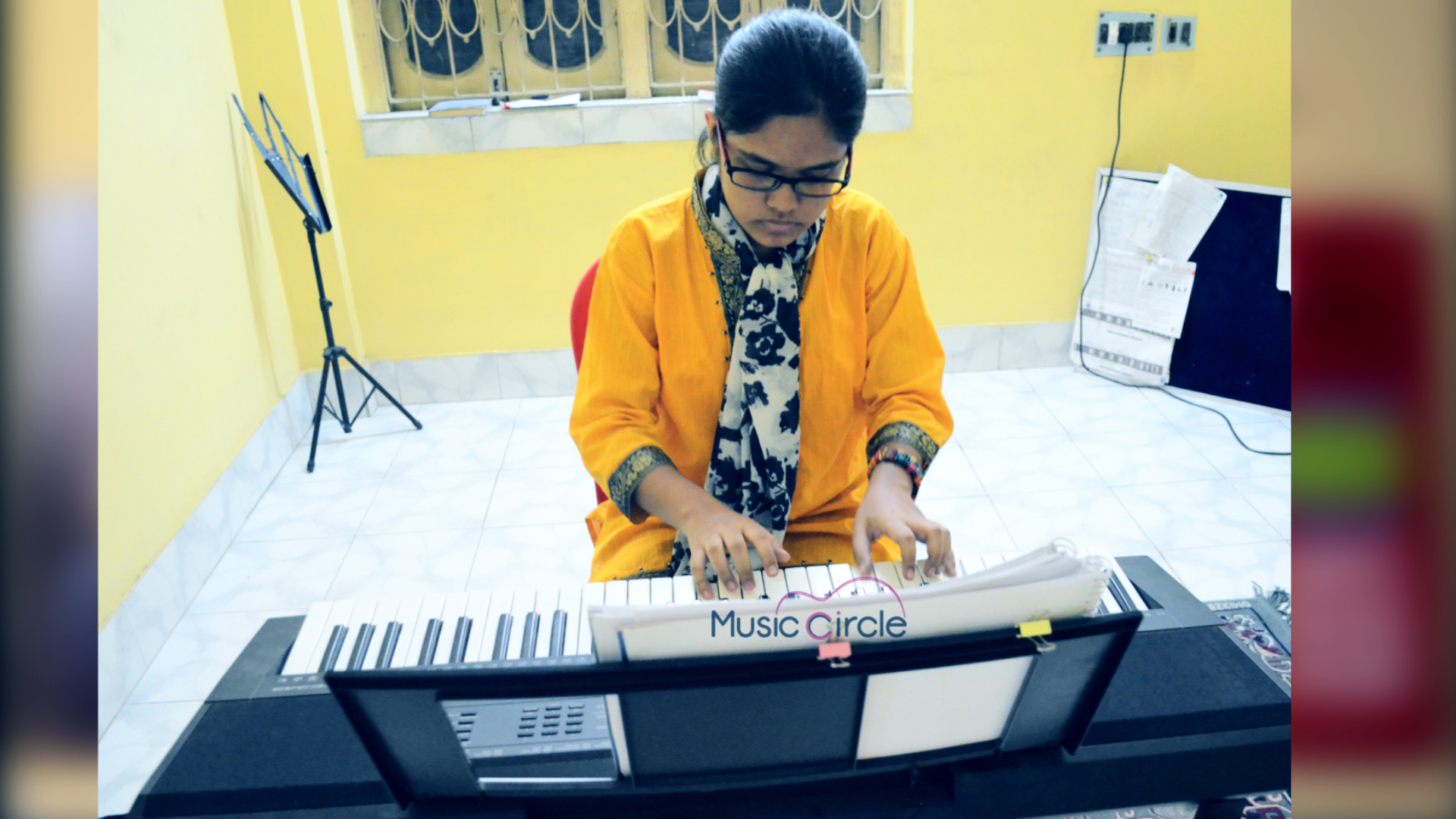 online keyboard classes india